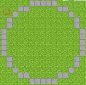Circle Template Minecraft by Minecraft Building Psyckostinamuffin