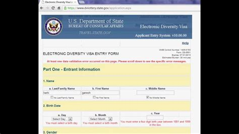 us green card photo template how to fill form of dv lottery