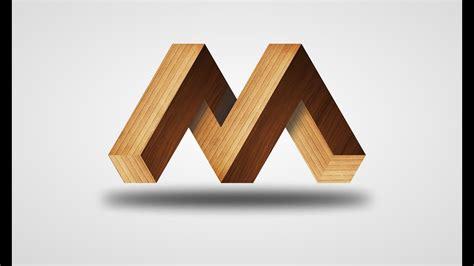 How To Make 3D Logo Tutorial Urdu / Hindi    3d M Logo ... M 3d Logo
