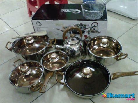 Panci Oxone Eco Cookware oxone eco cookware ox 933 asli panci stainless alat masak