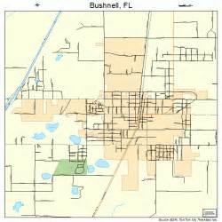 map of bushnell florida bushnell florida map 1209625