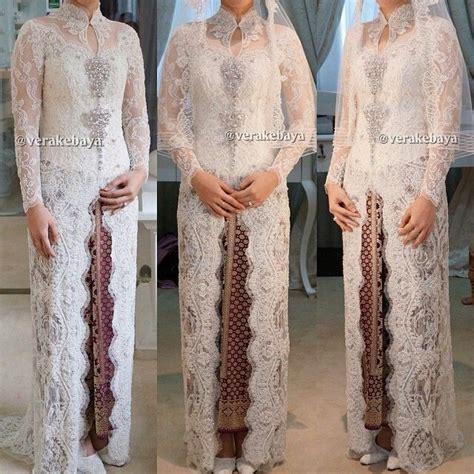 Dress Kebaya Modern Kebaya Pengantin Simpel Sk037 verakebaya kebaya by verakebaya