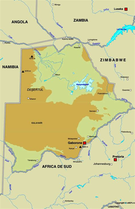 botswana on a world map map of botswana maps worl atlas botswana map