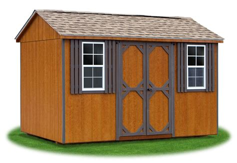 Creek Storage Sheds by Peak A Frame Style Sheds Pine Creek Structures