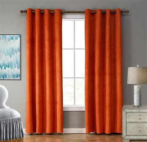 where to buy orange curtains where can i find burnt orange curtains curtain