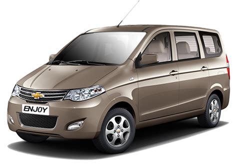 chevrolet noida service center chevrolet enjoy price in india review pics specs