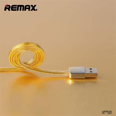 Kabel Data Remax Tough For Iphone Android esiafone premium kabel remax gold breathe