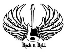 rock n roll cc coloring pages pinterest rock n rock