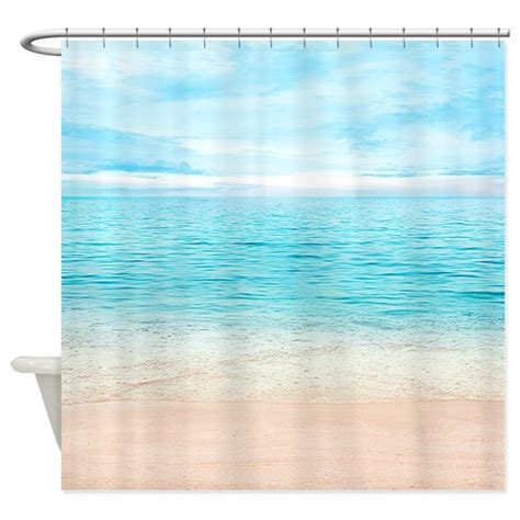 beachy shower curtains beautiful beach shower curtain by bestshowercurtains