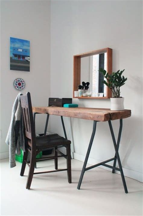 ikea wooden vanity the styled life the ever inventive ikea trestle