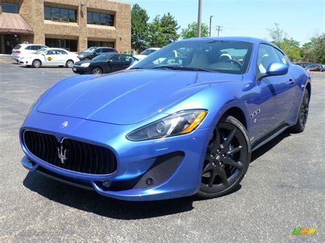 maserati granturismo blue interior sofisticato sport blue metallic 2014 maserati