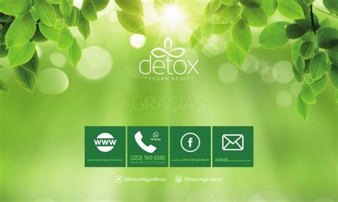 Clear Change Detox Powerpoint by Detox Vegan Reset Presentaci 243 N Propuesta De Valor