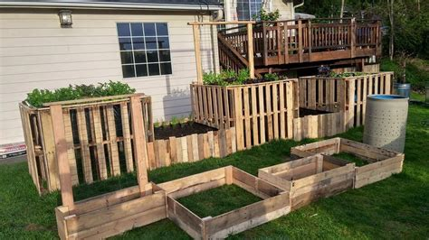diy pallet garden bed diy pallet garden raised flower bed ideas 99 pallets