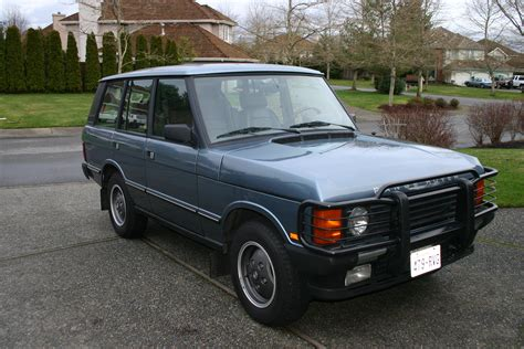 toyota land rover 1990 1990 land rover range rover information and photos