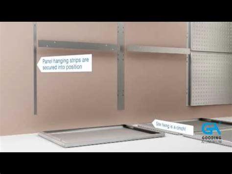 installing gooding aluminium wall cladding wc panels