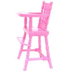 pink baby high chair 1 6 doll s house