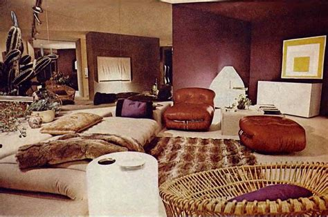 Browning Home Decor by When Living Rooms Went Brown Earth Toning Of American