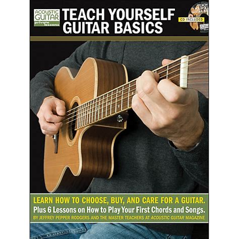 guitar book for beginners teach yourself how to play guitar songs guitar chords theory technique book lessons books hal leonard teach yourself guitar basics book cd package