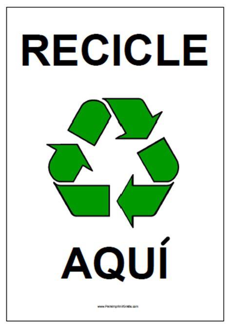 letreros con reciclaje carteles para imprimir gratis paraimprimirgratis com
