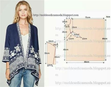 molde de saco kimono kimono sewing patterns tutorials pinterest