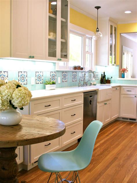 backsplash for yellow kitchen best colors to paint a kitchen pictures ideas from hgtv kitchen ideas design with