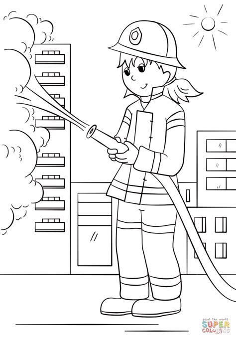 coloring pages vire girl top 82 fire fighter coloring pages free coloring page