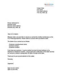 Sle Contract Termination Letter by Contract Termination Letter Real Estate Forms