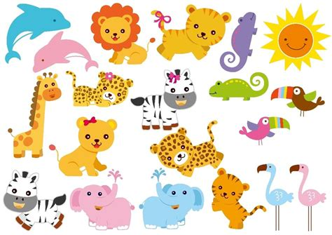 clipart animali zoo animal clipart