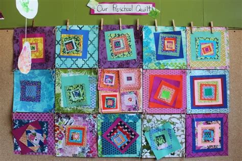 Quilt Paper Craft - scrumdilly do we made a paper quilt you can