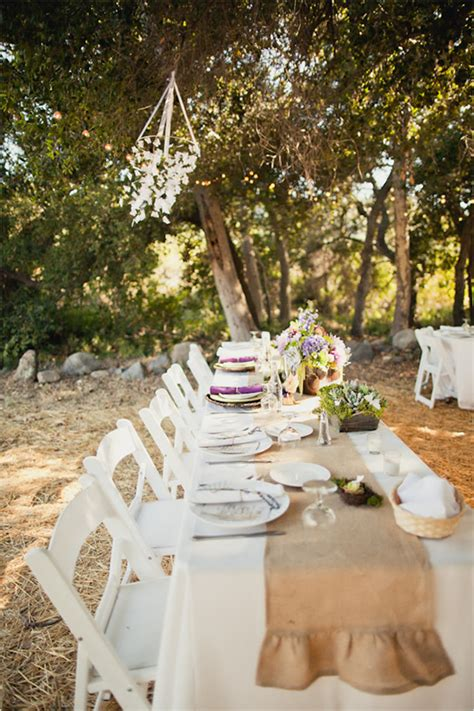 country wedding decor  ideas  country chic cottage