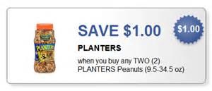 planters 1 2 planters peanuts printable coupon