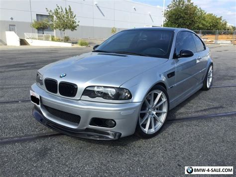 2002 Bmw M3 For Sale by 2002 Bmw M3 E46 M3 Slick Top 6 Speed Manual Dinan For