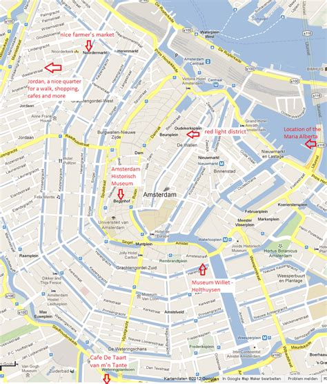 where is amsterdam on the map image gallery haarlem amsterdam map
