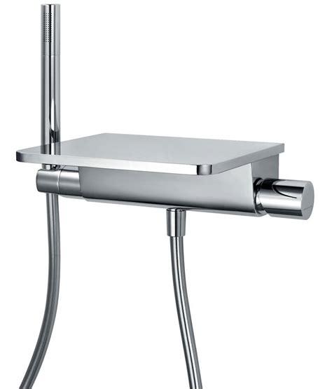 wall mounted bath shower mixer taps flova annecy wall mounted bath shower mixer tap with handset kit