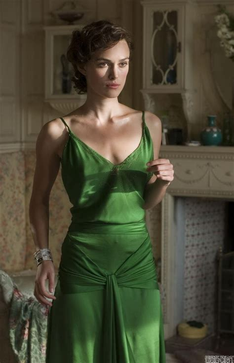 Fashion That Made You Think In 2007 by Atonement Green Dress Inspired By Keira Knightley For Sale