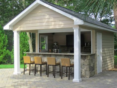 Pool House Plans With Bar by 25 Best Ideas About Pool House Shed On Pool