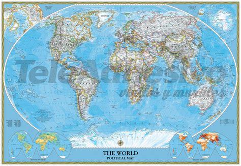 mapa mundo actual fotomural del mapa pol 237 tico del mundo actual