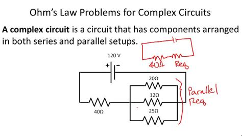 exercises on resistors in series and parallel resistors in series practice problems 28 images electrical circuits electronics ppt