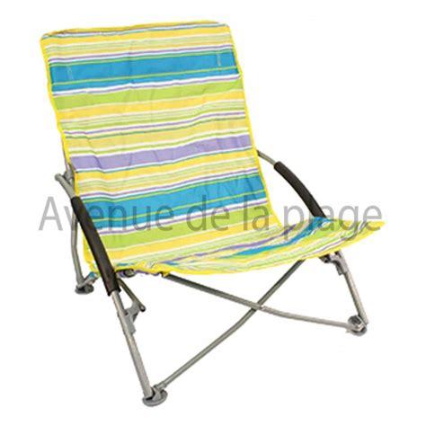 siege pliant plage chaise de plage basse pliante pas cher achat avenue de
