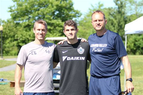 christian pulisic family u s soccer star christian pulisic visits lvc soccer c