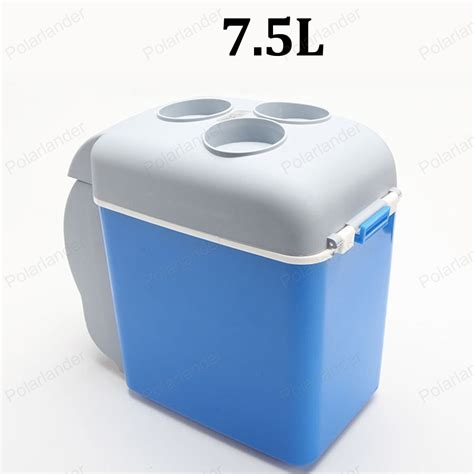 Portable Cold 1 and cold use portable mini warming and cooling vehicle refrigerator 12v 7 5l car