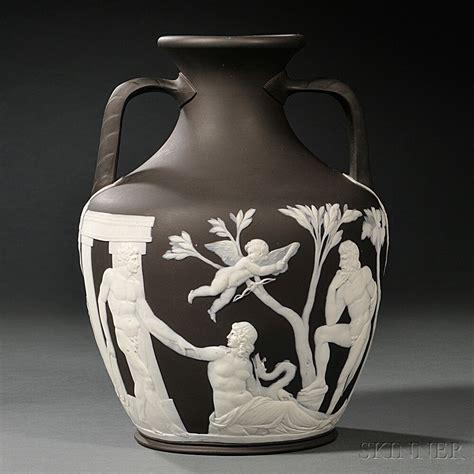 Portland Vase Wedgwood by Wedgwood Solid Black Jasper Portland Vase Sale Number