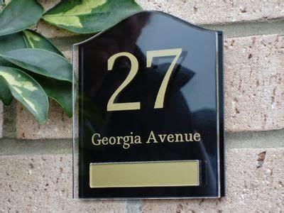 Nomor Rumah Acrylic aditya production jakarta custom nomor rumah acrylic di