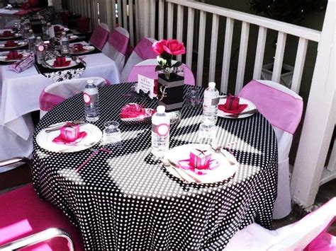 Pink And Black Baby Shower Themes by Pink Black And White Baby Shower Ideas Baby
