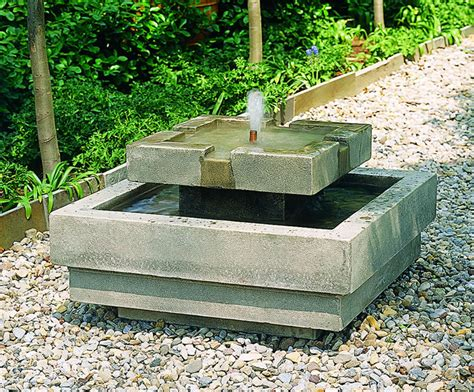 simple water features for backyard the simple garden design with a fountain outdoor