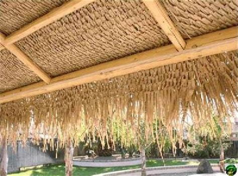 Bar Awnings Thatch Roofing Bamboo Toronto