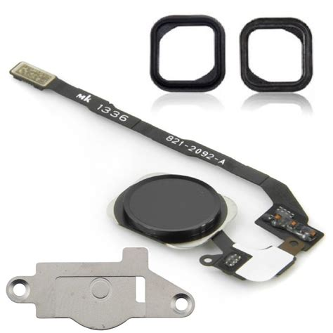 Iphone 5s Home Button Flex Cable Part iphone 5s black home button flex cable replacement kit for sale ireplaceparts