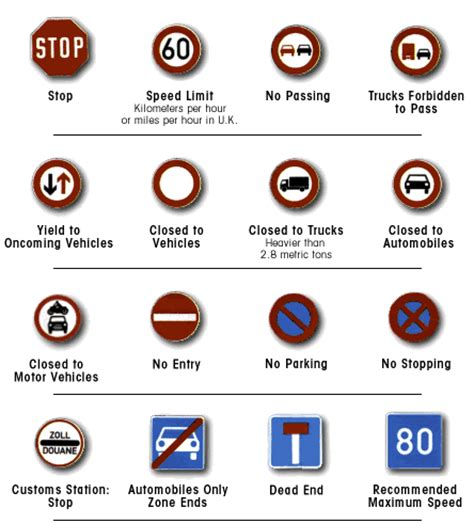 printable french road signs international road signs elakiri community