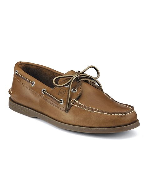 sperry s boots sperry top sider authentic original 2 eye leather boat