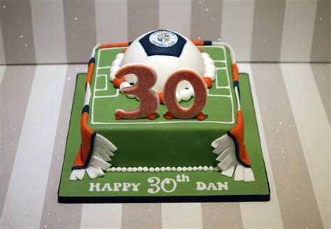 Luton Town Football Club 30th Birthday Cake   Bakealous